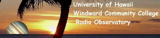 Windward Community College Radio Observatory